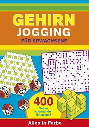 9783625173342: Gehirnjogging für Erwachsene: 400 Seiten Training für die grauen Zellen - Alles in Farbe
