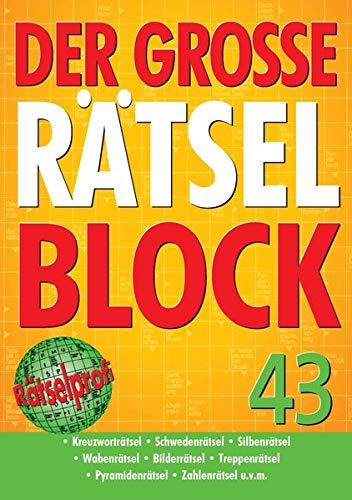 9783625174042: Der große Rätselblock 43