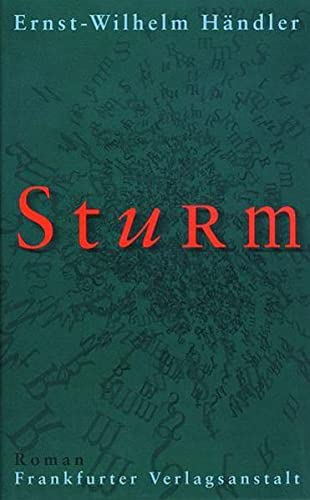 9783627000301: Sturm: Roman (German Edition)