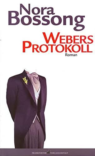 9783627001599: Webers Protokoll