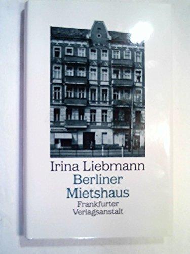 9783627100766: Berliner Mietshaus