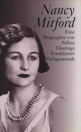 9783627102340: Nancy Mitford. Eine Biographie