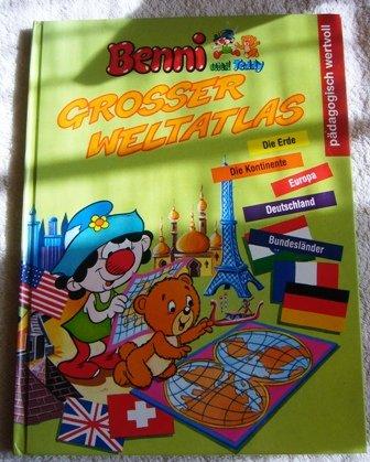 9783629002532: Benni und Teddy - Grosser Weltatlas