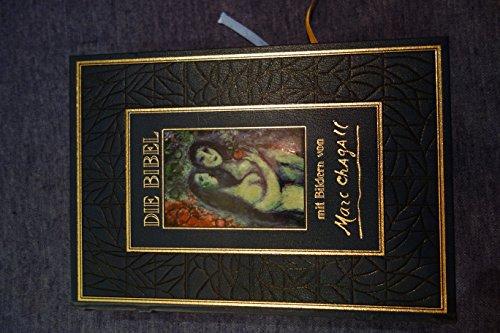 9783629010063: Die Bibel mit Bildern von Marc Chagall