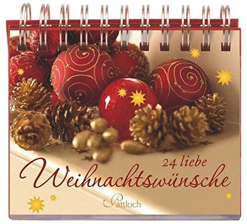 9783629109675: 24 liebe Weihnachtswünsche