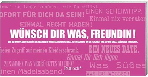 9783629112040: Wünsch dir was, Freundin!: Gutscheinheft