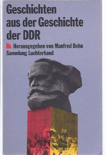 9783630613017: Geschichten Aus Der Geschichte Der DDR 1949-1979 (German Edition)