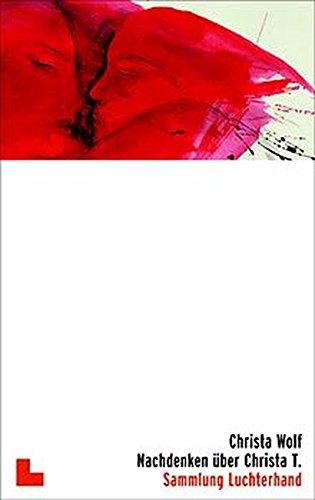 9783630620329: Nachdenken Uber Christa T. Roman (German Edition)