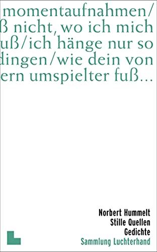 Stille Quellen: Luchterhand Literaturvlg.