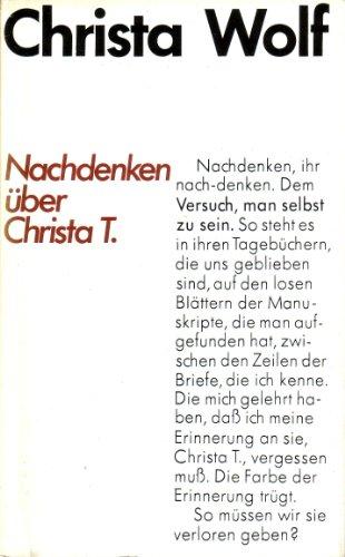9783630820514: Nachdenken über Christa T.