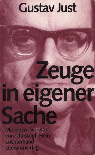 9783630867366: Zeuge in eigener Sache: Die funfziger Jahre in der DDR (German Edition)