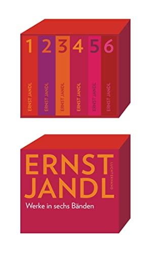 Werke in sechs Bänden (Kassette): Ernst Jandl
