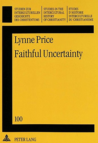 Faithful Uncertainty: Price, Lynne