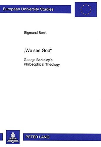 We See God: Sigmund Bonk