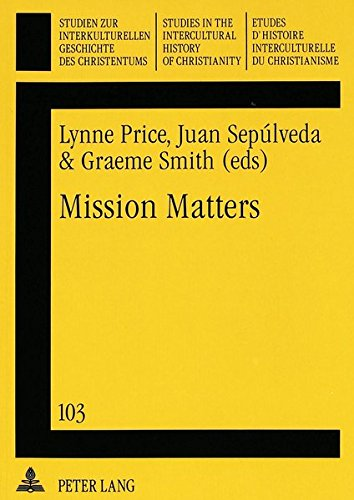 Mission Matters: PRICE/SEPULVEDA/SMITH EDS