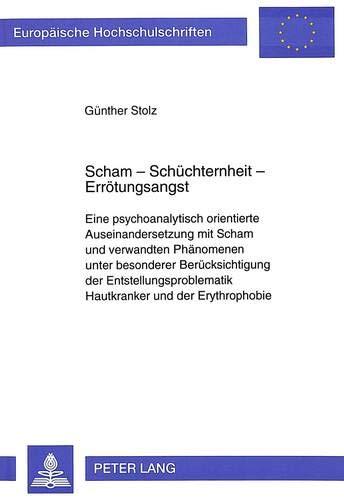Scham - Schüchternheit - Errötungsangst Eine psychoanalytisch orientierte ...