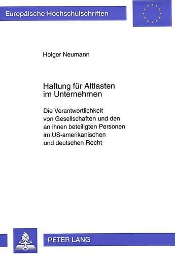 Haftung für Altlasten im Unternehmen: Holger Neumann