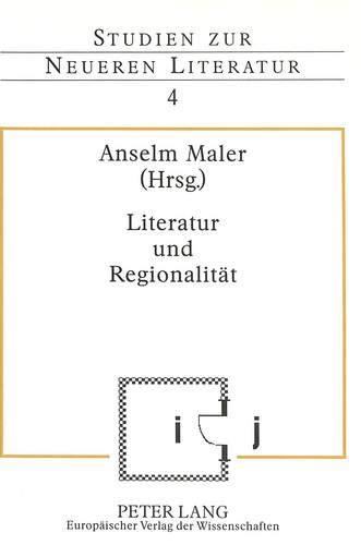 9783631320679: Literatur und Regionalität (Studien zur neueren Literatur) (German Edition)