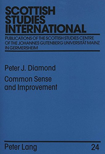 9783631335529: Common Sense and Improvement: Thomas Reid as Social Theorist (Scottish Studies International - Publications of the Scottish Studies Centre, Johannes Gutenberg-Universität Mainz in Germersheim)
