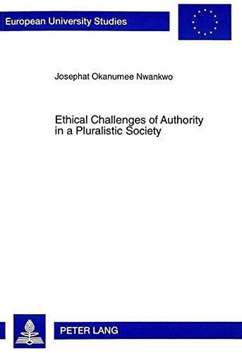 9783631335628: Ethical Challenges of Authority in a Pluralistic Society: The Nigerian Example (Europäische Hochschulschriften / European University Studies / Publications Universitaires Européennes)