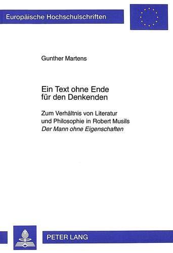 Ein Text ohne Ende für den Denkenden: Gunther Martens