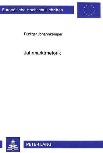 Jahrmarktrhetorik: Rüdiger Johannkemper