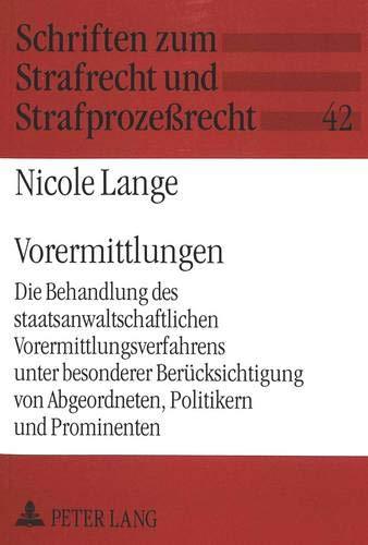 Vorermittlungen: Nicole Lange