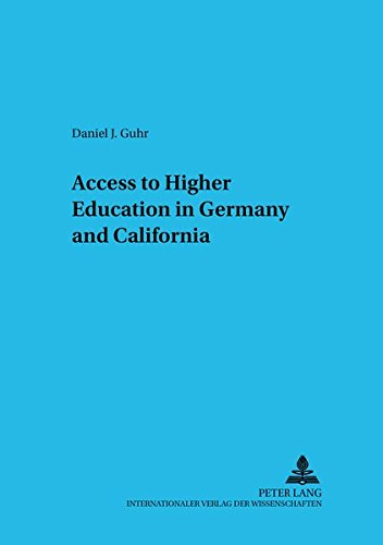 9783631356524: Access to Higher Education in Germany and California (Studies in Comparative Education)