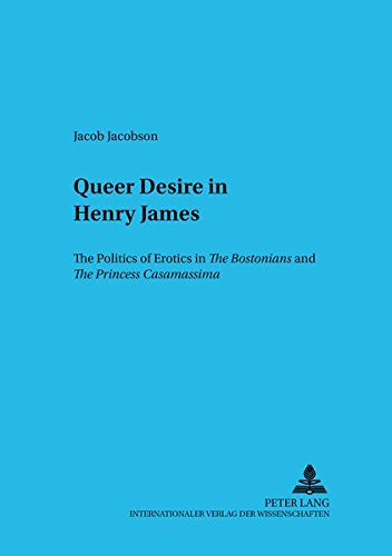 Queer Desire in Henry James: Jacob Jacobson