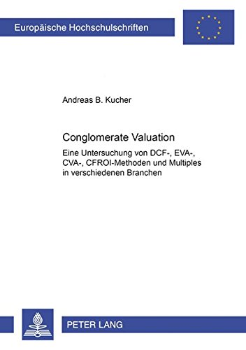 Conglomerate Valuation: Andreas B. Kucher