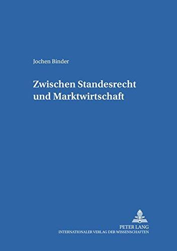 Zwischen Standesrecht und Marktwirtschaft: Ärztliche Werbung zu Beginn des 20. Jahrhunderts im ...