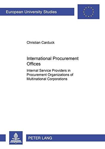 International Procurement Offices: Carduck, Christian