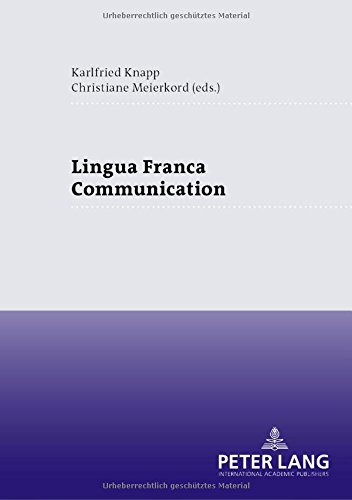 9783631364604: Lingua Franca Communication
