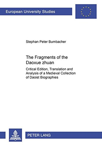 9783631365397: Fragments of the Daoxue Zhuan