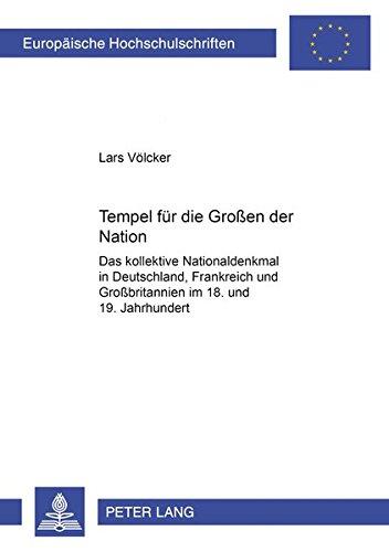 Tempel für die Großen der Nation: Lars Völcker