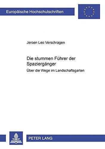 Die «stummen Führer» der Spaziergänger Über die Wege im ...