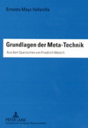 9783631371671: Grundlagen der Meta-Technik