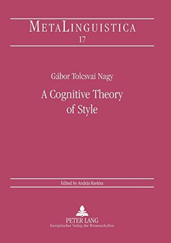 9783631375518: A Cognitive Theory of Style (Metalinguistica)