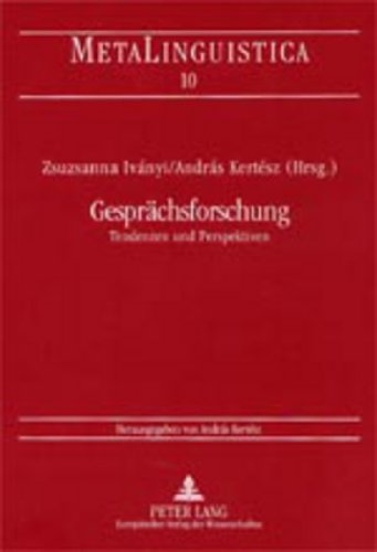Gesprächsforschung: Zsuzsanna Iványi