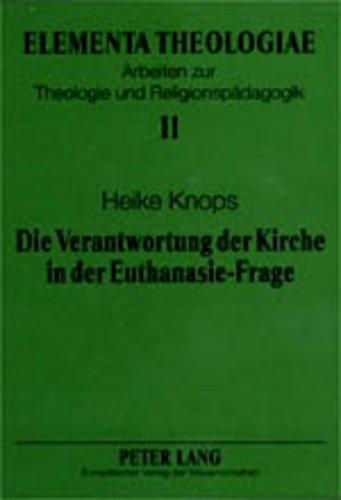 Die Verantwortung der Kirche in der Euthanasie-Frage: Heike Knops