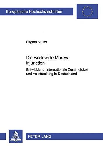Die worldwide Mareva injunction