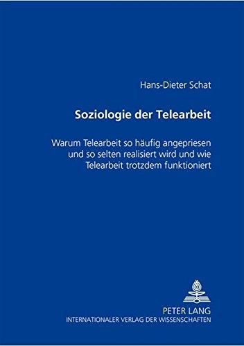 Soziologie der Telearbeit: Hans-Dieter Schat