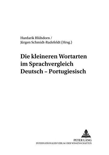 Die kleineren Wortarten im Sprachvergleich Deutsch-Portugiesisch: Hardarik Blühdorn