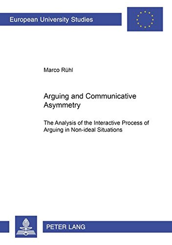 Arguing and Communicative Asymmetry The Analysis of the Interacti: R�hl Marco