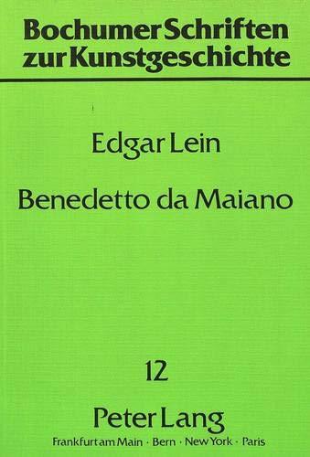Benedetto da Maiano: Lein, Edgar