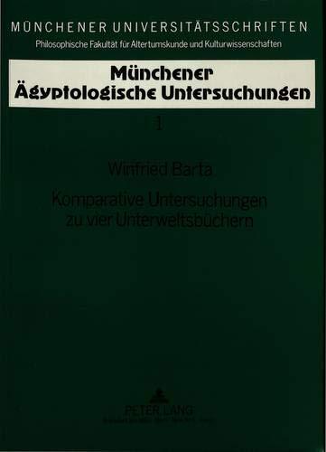 Komparative Untersuchungen zu vier Unterweltsbüchern: Barta, Winfried