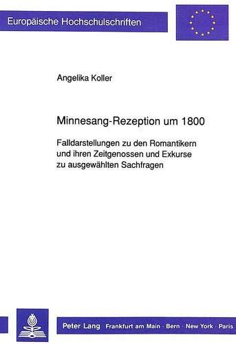 Minnesang-Rezeption um 1800: Angelika Koller