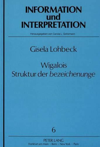 Wigalois: Gisela Lohbeck