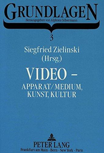 Video - Apparat/Medium, Kunst, Kultur: Siegfried Zielinski