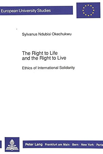 Right to Life and the Right to Live: Sylvanus Ndubisi Okechukwu